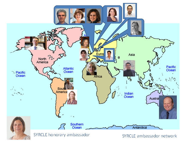 SYRCLE ambassador network world wide